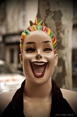 Fou-rire ... ( P-A) Tags: rire sourire fun mannequin bientre dcontracte bonheur joiedevivre voyages vacances visiteurs photos simpa