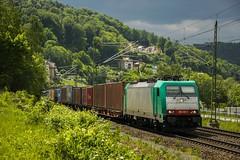 E186 130-1 (lewandowski_mateusz) Tags: knigsteinschsischeschweiz knigstein e186 bombardiertraxx freighttrain itl captrain e1861301