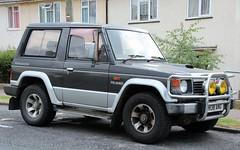 H138 ANG (Nivek.Old.Gold) Tags: 1990 mitsubishi pajero swb intercooler turbo wagon 2470cc