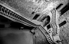 Like Escher (ariablu dosoos) Tags: escher poppi tuscany castle castellodipoppi poppicastle explore xplore nikon nikond700 noiretblanc