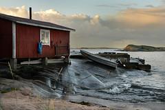 HANKO Fisherman's hut (pentlandpirate) Tags: hanko finland hango suomi fisherman hut shed beach baltic sea lighthouse islands archipelago boat rock granite