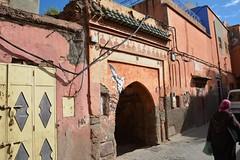 Medina of Marrakesh (JohntheFinn) Tags: africa gate unescoworldheritagesite morocco maroc marrakech souk medina marrakesh marokko afrique highatlas portti afrikka
