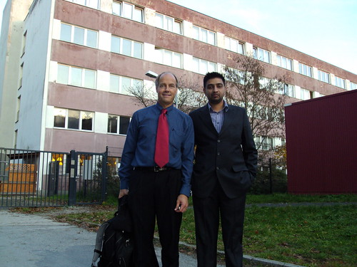 Director Mr. G.S.Kang with Mr. Whitney Sterling of BBIS Germany (2)