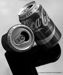 New Tricks (richard STOCKER PHOTOGRAPHY) Tags: moments cola centre science gravity cans trick coca balanced appliance