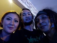Erwin Saz, Agis Kania and me