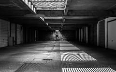 Miroir (Julien Rode) Tags: urban architecture lumire parking nb contraste portfolio ville lehavre