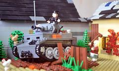 Pz. II Luchs (Rage_Rex) Tags: tank lego ii ww2 panzer luchs