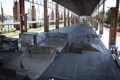 Skate Park Dora (Matias MasMentiras) Tags: park urban parco torino iron piemonte skate urbano ruggine urbex ferro industriale ruderi industrual desaturo