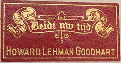 Bookplate/Label: Goodhart, Howard Lehman, 1884?-1951 (Bryn Mawr College Library) (Provenance Online Project) Tags: nuremberg specialcollections 1486 kobergerantonapproximately14401513 bookplatelabel goodharthowardlehman18841951 brynmawrcollegelibrary brynmawrcollegelibraryfb781 boethius524