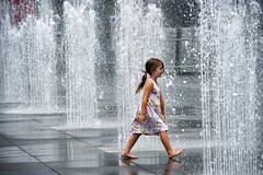 girl in fountain (Jude Marion) Tags: toronto ontario canada waterfountain dundassquare