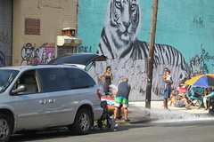 IMG_4350 (Mud Boy) Tags: nyc newyork brooklyn bushwick summer streetscene hydrant graffiti firehydrant streetart mural