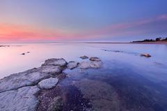 At the mouth of Rapid Creek (Louise Denton) Tags: rapidcreek casuarinabeach darwin creek sea ocean water rocks sunset nt northernterritory