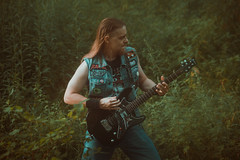 IMG_5219 (rodinaat) Tags: longhair longhairman longhairedman longhaired beard bearded metal metalhead powermetal trashmetal guitar musican guitarplayer brutal forest summer sun