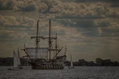 Tall ships in Toronto, 2016 (Iskou-Hee) Tags: tallships toronto elgaleon harbourfront iskouhee
