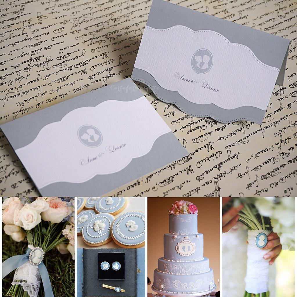 Partecipazioni Matrimonio Azzurro Polvere : The world s best photos of cameo and matrimonio flickr hive mind