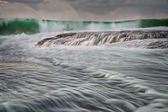 Ebb & Flow (JimScottAU) Tags: newport newsouthwales australia au seascape water wave rock