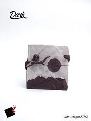 dark (-sebl-) Tags: owl origami sebl squarre challenge dark forum landscape moon mountain branch