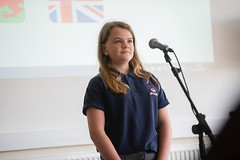 SpellingBeeFinal2016_km152 (routesintolanguages) Tags: uk wales kids modern competition aberystwyth using learning spelling welsh language foreign schoolkids talking schoolgirl schoolgirls pupil speaking vocabulary pupils spellingbee 2016 year7 europeaan wjec schoolkind langiages medrus