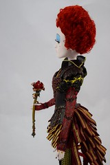 Iracebeth The Red Queen Limited Edition 17'' Doll - Alice Through the Looking Glass - Disney Store Purchase - Deboxed - Standing - Midrange Right Side View (drj1828) Tags: iracebeth alicethroughthelookingglass limitededition us disneystore doll 17inch purchase liveactionfilm theredqueen deboxed standing