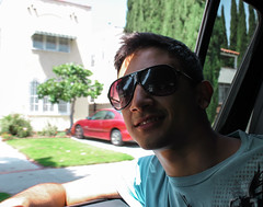 Passenger (Forat Alawsii) Tags: usa me sunglasses los angeles hollywood passenger