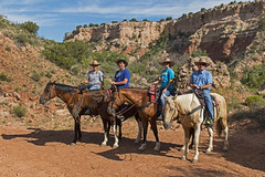 Horseback Riding (Stephen J Pollard (Loud Music Lover of Nature)) Tags: family gabi familia ian stephen horseback palodurocanyon montaracaballo chemagne paloduroridingstables
