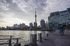 Harbourfront Toronto (Rcri) Tags: lake toronto canada tower cn canon lago eos town downtown harbour walk down harbourfront passeggiata 550d rcri