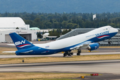 VQ-BBH (sabian404) Tags: west cn way portland airport silk cargo international pdx boeing airlines 747 ln 1530 kpdx b748 silkway 62708 7478f boe643 74783qf vqbbh