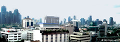 20160703_164134crop (MYW_2507) Tags: skyline cityscape skyscrapers jakarta highrises blokm kebayoranbaru