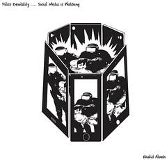 socialmedia jail (khalid Albaih) Tags: khartoon cartoon illustration muslum cartoonist oak human rights fellow 2016