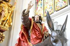 Christus auf dem Palmesel (Katholische Kirche Vorarlberg) Tags: palmsonntag palmesel christus