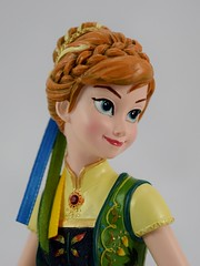 Couture de Force Frozen Fever Anna 8 Inch Figure - Disney Store Purchase - Deboxed - Portrait Front View (drj1828) Tags: us disneystore frozenfever anna figurine 8inch purchase deboxed