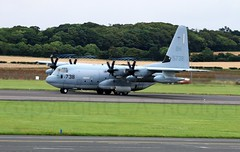 KC130J  5738 (TF102A) Tags: aviation aircraft prestwick c130 hercules usmarines