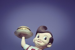 Bob's Big Boy (TooMuchFire) Tags: americana burbank vintage diner diners googie icons vintageamericana advertising bobsbigboy 4211wriversidedrburbankca commercialarcheology tolucalake 1950s carhop vintagediners sfv socal southerncalifornia