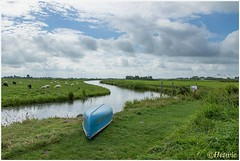 weids land (HP015041) (Hetwie) Tags: wei vaart natuur uitzicht nature outdoor view gras itdreamlan water friesland kamperen kollumerpomp nederland