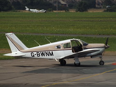 G-BWNM Piper 28 Arrow (Aircaft @ Gloucestershire Airport By James) Tags: gloucestershire airport gbwnm piper 28 arrow egbj james lloyds
