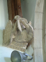 The Last Trump will not be televised (Moominpappa06) Tags: stmaryyaxley yaxley suffolk suffolkchurches england uk artforartssake angel angelichornblower