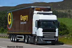 GREGORY DISTRIBUTION SCANIA PROTOTYPE KX15 KYJ (denzil31) Tags: gregory general haulage and distribution scania prototype topline scaniatrucks a9 new euro6