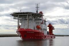 Deepsea Worker Blyth 260716 (silvermop) Tags: ship boats ships sea offshorevessels offshore port river blyth deepseaworker