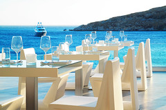 Petasos Beach Resort & Spa - Luxury Hotel (petasosbeach) Tags: petasos petasosbeach petasosbeachresortspa platisgialos restaurant greece greek motoryacht water summer summer2016 summervacation summerholidays sea sky viprestaurant vacation view food dining