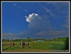 Sunday Clouds (Snapshots by JD) Tags: uds oklahoma westville