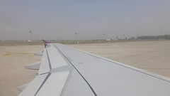 Jet Airways landing at Amritsar (VHS Channel) Tags: srigururamdassjeeinternationalairport amritsar video 2016 april airport airline flight travel vhschannel to416 enroutetoronto416 jetairways punjab india