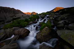 In the shadows (George Pancescu) Tags: nikon d810 1635mm longexposure waterfall water river sunrise morning light nature natural outdoor rocks retezat massif mountain bucura stream outstandingromanianphotographers judele bucura1