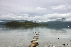 Loch Lomond Rocks (MatMat Brown) Tags: trossachs loch lomond landscape lake water scotland