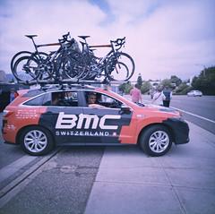 BMC (edwardconde) Tags: edwardconde73 photographersontumblr film lomolca120 120film biketour californiatour bicycles mediumformat bmc kodakepp100 lca120 xpro