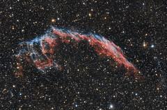 NGC6992 - Ftyol kd - Eastern Veil Nebula (hodorgabor) Tags: astrophoto astrophotography stars sky deepsky night nebula longexposure veil space