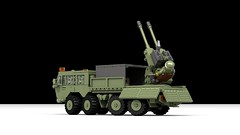Dakka Dakka (John Moffatt) Tags: lego truck army military