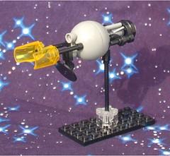 Spheroid Recon Frigate (Mantis.King) Tags: kreo moc mechaton mobileframezero mf0 mfz microscale scifi space spaceship interceptorbit futuristic wargames