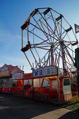 DSC02249 (A Parton Photography) Tags: fairground rides spinning longexposure miltonkeynes fireworks bonfire november cold