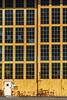 alameda-055 (Yvonne Rathbone) Tags: 1855mmf3556gvr nikkor nikon abandoned industrial orange pattern rust warehouse windows repetition
