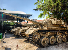 main battle tanks (maskirovka77) Tags: israeldefenseforces idf museum idfmuseum tanks m48 outdoors hdr armoredcar artillery antiaircraft armoredpersonnelcarrier bridgingequipment